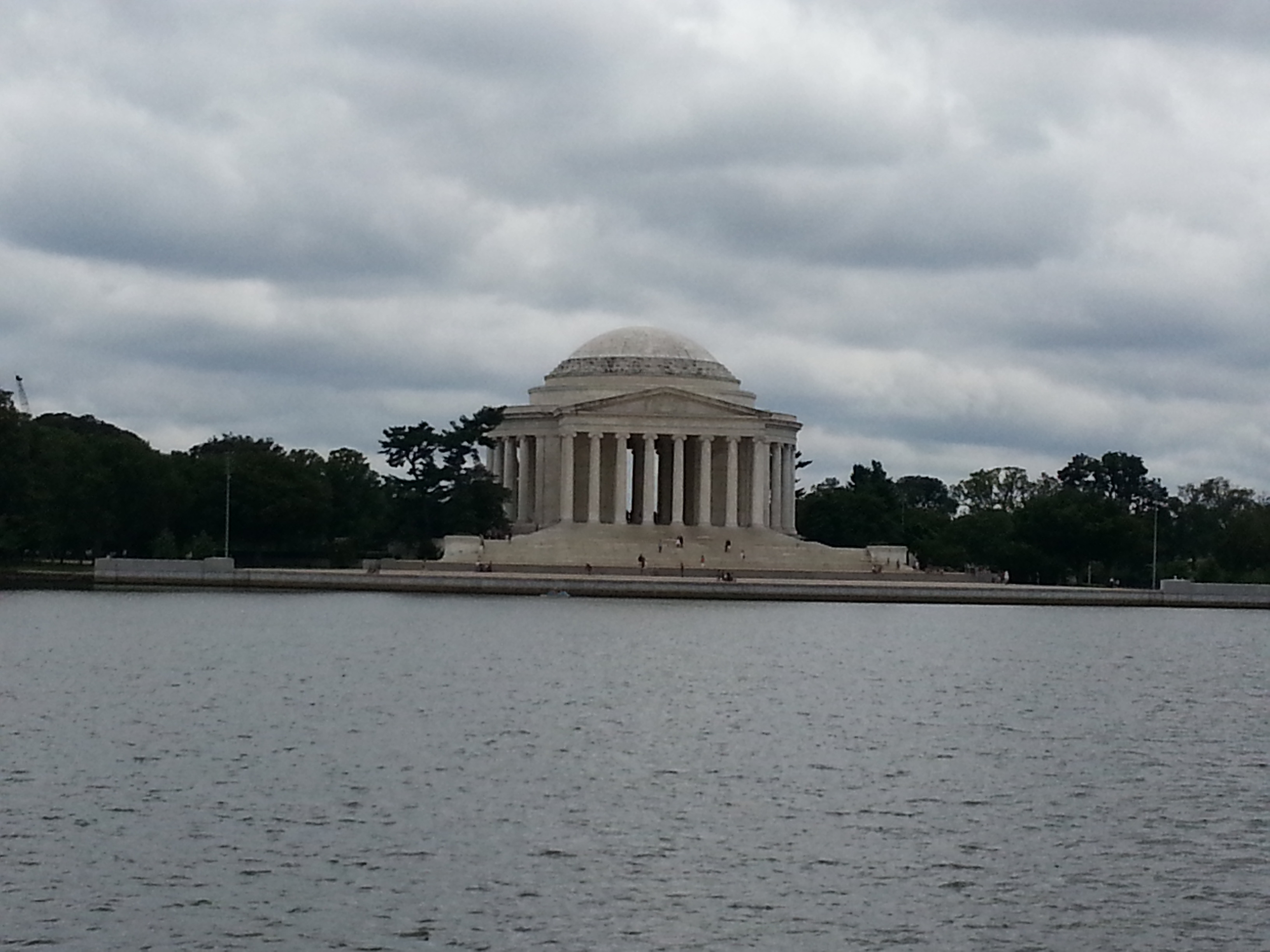 Thomas Jefferson Memorial across the Washington Channel