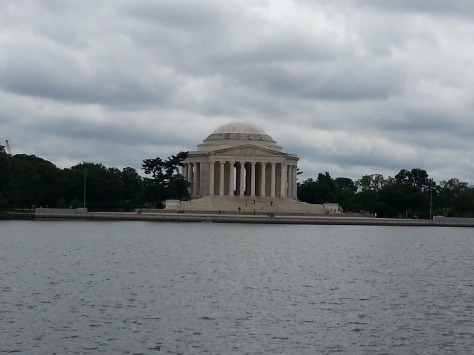 Thomas Jefferson Memorial across the Washington Channel